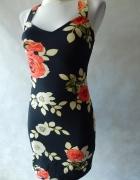 MotelRocks NOWA sukienka w kwiaty 34 36...
