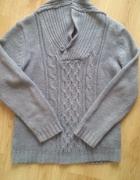 sweter szary M