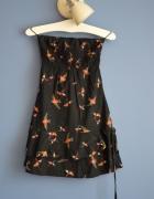 sukienka w ptaszki XS