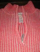 Czerwony szary sweter męski Reserved M