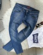 jeansy big star biodrówki r XS S
