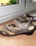 Rieker Antistress sandały damskie obuwie 40