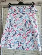 Letnia kolorowa spódnica bawełniana
