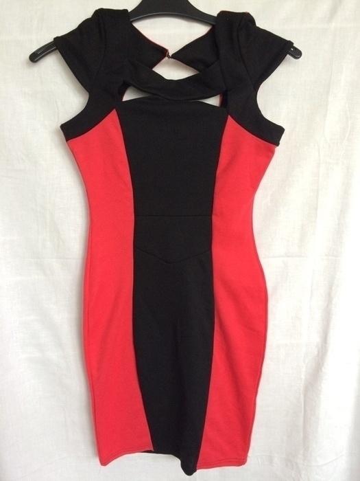 Piękna bandazowa bodycon sukienka XS...