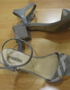Szare sandały Jenny fairy 38