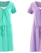 Pastelowe sukienki dwa kolory
