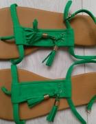 Sandały z frędzlami H&M