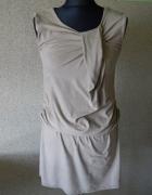 welurowa tuniko sukienka