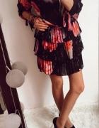 Sukienka Damska w kwiaty M L