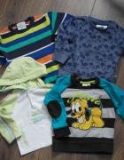 Disney bluzki sweterek 74 80