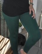 zielone legginsy