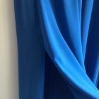 Chabrowa spódnica maxi M kieszenie rozcięcia