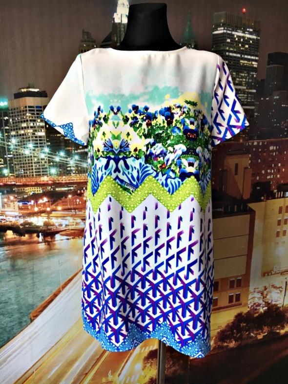 Suknie i sukienki glamorous sukienka luźny fason modny wzór 38 M