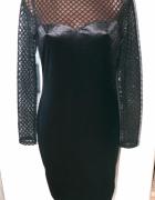 Nowa new look sukienka siateczka 3840...
