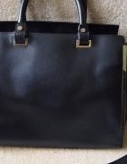 Czarna torba Atmosphere kuferek torebka na ramię