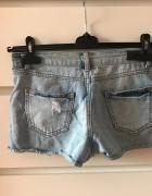 jeansowe spodenki new look...