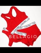 Calvin Klein czerwony komplet M Nowy