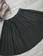 Zara Woman nowa czarna rozkloszowana plisowana spó
