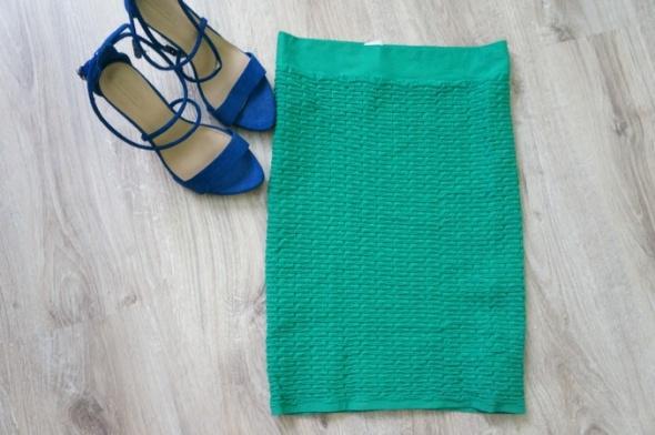 Spódnice zielona bandażowa spódnica z wyskim stanem vero mo