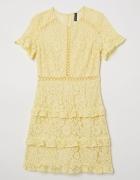 Sukienka H&M koronkowa