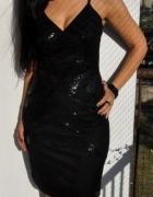 elegancka czarna sukienka Vero Moda