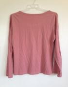 Różowa pudrowa bluzka długi rękaw House M 38 36 S