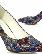 SZPILKI MULTICOLOR kolorowe jak Kazar Juma Fashion World