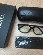 Nowe Chanel czarne oprawki zerówki firmowe...