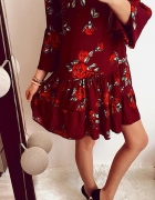 Sukienka Damska w kwiaty L