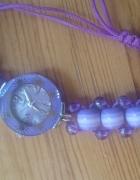 Wrzosowy zegarek