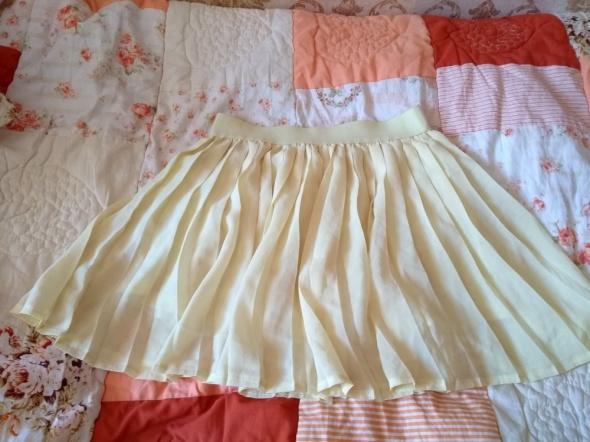 Śliczna żółta spódniczka na lato XS...