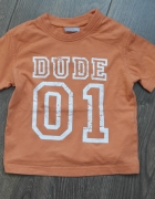 Pomarańczowa bluzeczka letnia 74...