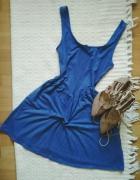 Sukienka babyblue New look rozmiar 36 S rozkloszowana