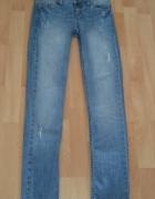 Spodnie jeansy Stradivarius damskie XS...