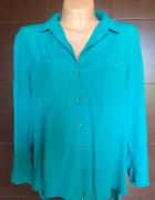 Bluzka w kolorze morskiej zieleni