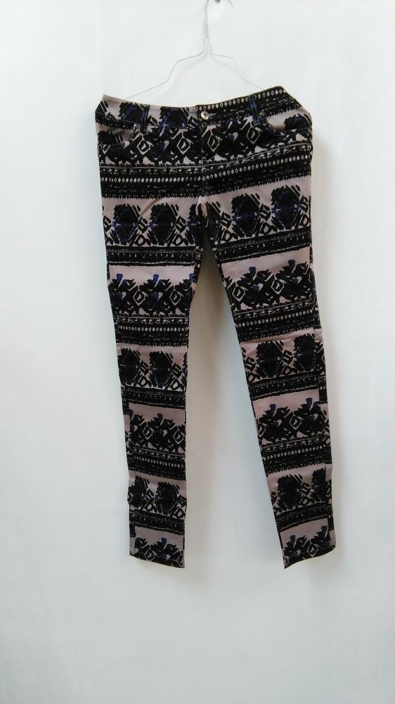 Bon Prix wzorzyste spodnie biodrówki azteckie boho...