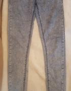 Długie spodnie rurki z wyższym stanem Tally Weijl 36 S...