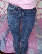 Spodnie jeansowe rurki rozmiar S...
