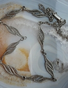 stary srebrny naszyjnik Imago Artis filigran
