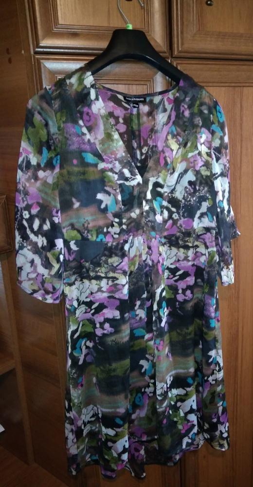 Boska sukienka KappAhl 38 40 jak malowana...