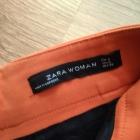 Pomarańczowa mini spódniczka zara
