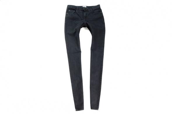f6d0ed6381ae ASOS czarne jeansy rurki 34 w Spodnie - Szafa.pl
