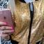 bomber hologram panterka gold złoto bomberka...