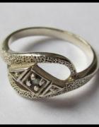 Srebrny pierścionek próba 925
