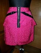 Różowa panterka spódnica zip 40...