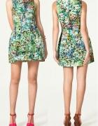 ZARA tulip floral dress...