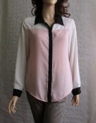 ATMOSPHERE lekka koszula pastelowa pudrowa 42