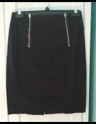 Spódnica ołówkowa czarna H&M