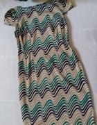 Oryginalna wzorzysta sukienka GREY Wolf