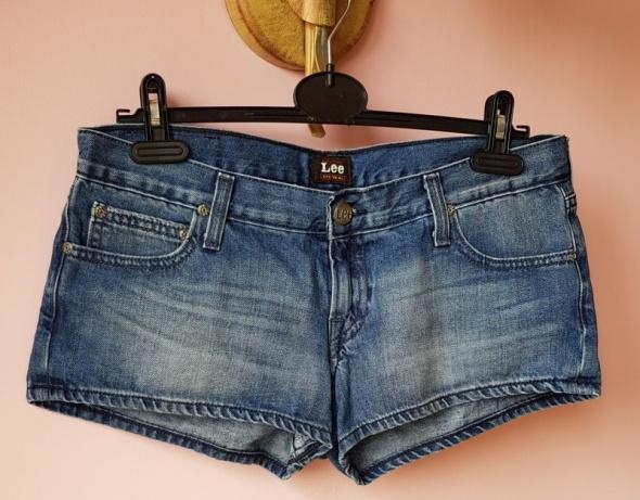 Spodenki Szorty spodenki LEE jeansowe niebieskie